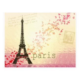 Amor en París Postales