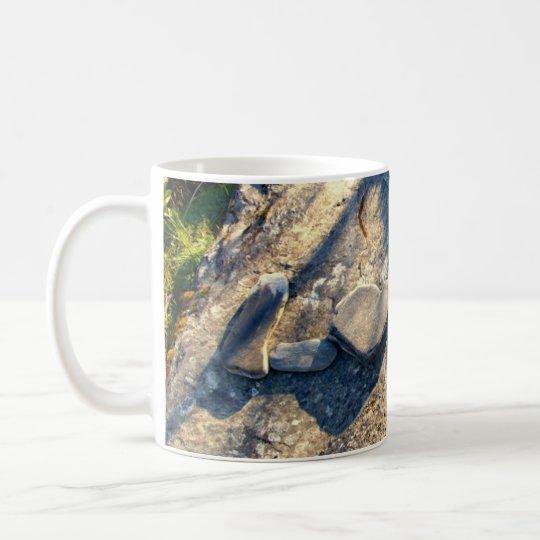 AMOR en taza de la taza de café de la taza de la