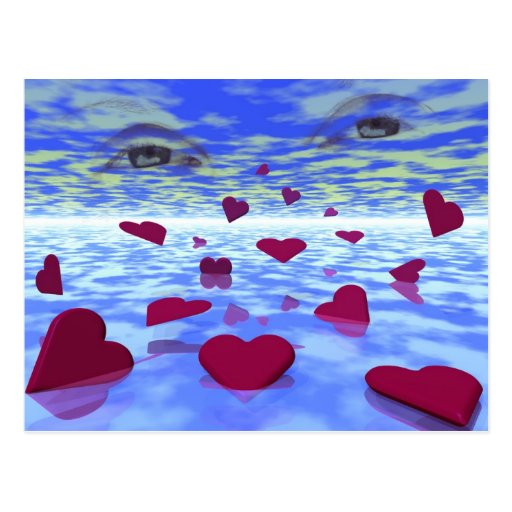 Amor eterno postales