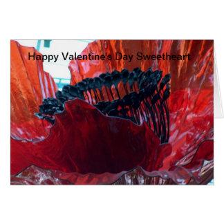 Amor feliz del el día de San Valentín Tarjeta De Felicitación