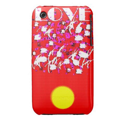 Amor iPhone 3 Case-Mate Cárcasa