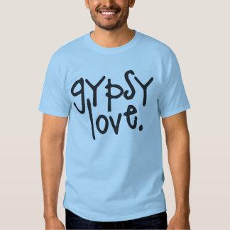 Amor gitano camisetas