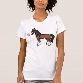 Amor gitano de Clydesdale del condado de Vanner Camiseta