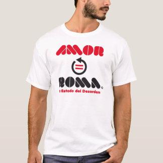 AMOR IGUAL A ROMA AL REVÉS CAMISETA