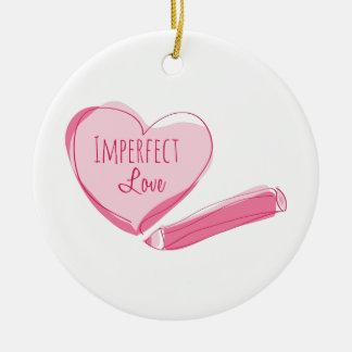 Amor imperfecto ornamento para reyes magos