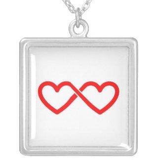 Amor infinito collar personalizado