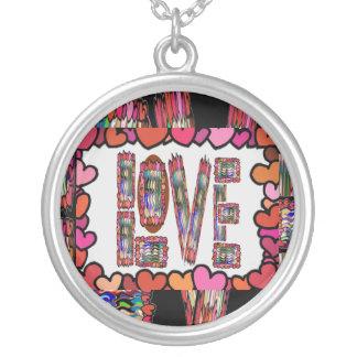 Amor - inscripción romántica colgante