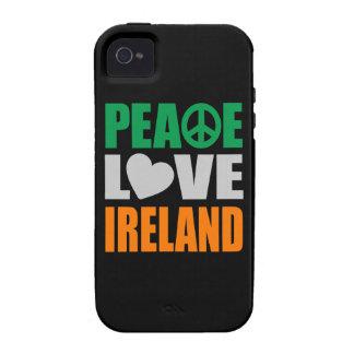 Amor Irlanda de la paz iPhone 4/4S Carcasas