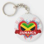 Amor Jamaica del vintage I Llaveros Personalizados