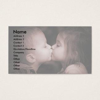 Amor joven tarjeta de negocios