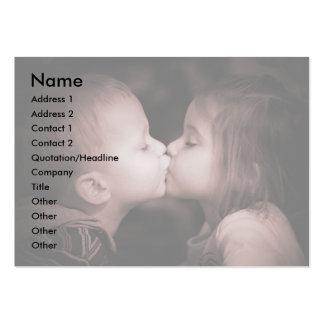 Amor joven tarjeta personal