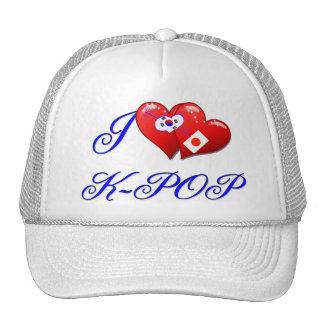Amor K POP de JAPÓN Gorras
