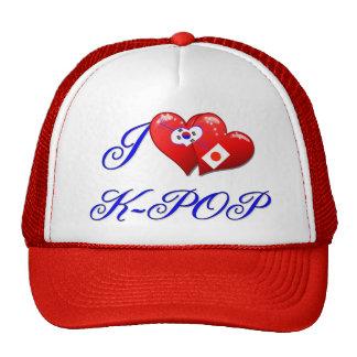 Amor K POP de JAPÓN Gorras De Camionero