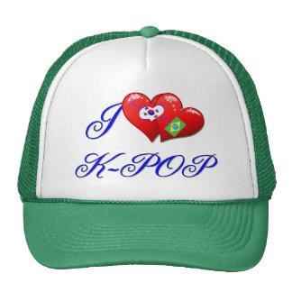 Amor K POP del Brasil Gorros