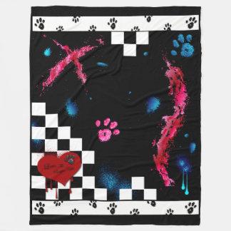 Amor: La manta del paño grueso y suave de Kittie