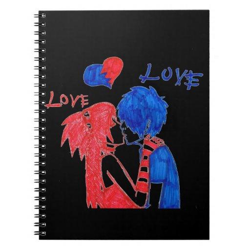 Amor Libreta Espiral