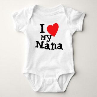 Amor lindo de I mi mono del bebé de Nana Body Para Bebé