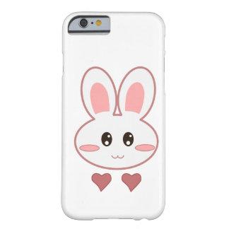 Amor lindo del conejito funda de iPhone 6 barely there