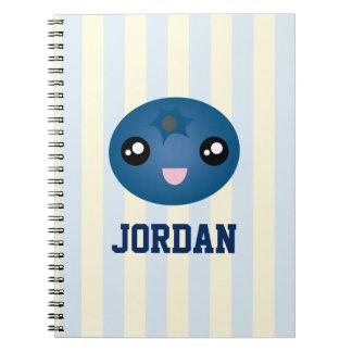 Amor lindo usted baya mucha baya del azul del cuaderno