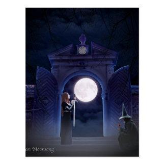 Amor lunar postal
