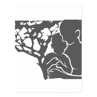 amor/madre y niño de la familia postal
