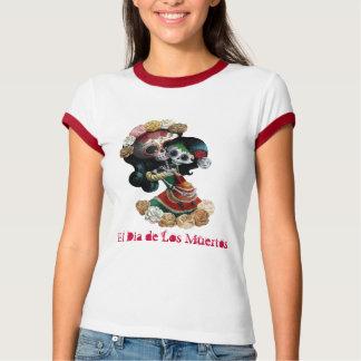 Amor maternal esquelético mexicano camiseta