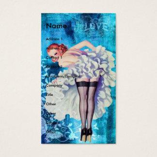 Amor modelo tarjeta de visita