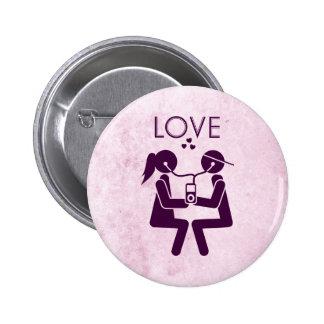 Amor moderno pins