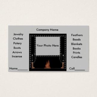 Amor nativo tarjeta de negocios