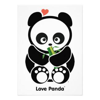Amor Panda® Invitación Personalizada