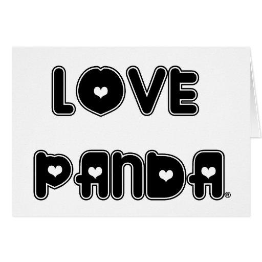 Amor Panda® Tarjeta