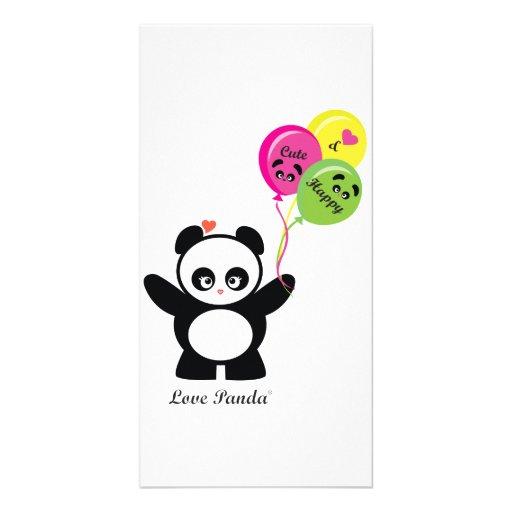 Amor Panda® Tarjetas Fotograficas