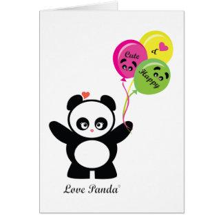 Amor Panda® Tarjeta Pequeña