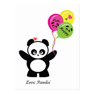 Amor Panda® Tarjeta Postal