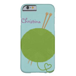 Amor para hacer punto la caja del iPhone 6 Funda De iPhone 6 Barely There