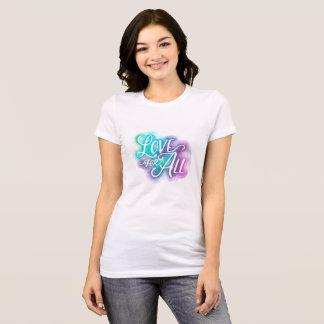 Amor para toda la camiseta cabida