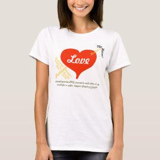 Amor, paz - en cualquier momento camisa