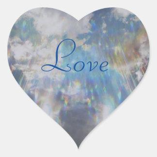 Amor Pegatina En Forma De Corazón