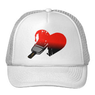 Amor pintado gorro de camionero
