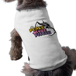 Amor Pitbull, BSL anti de la paz Camiseta Sin Mangas Para Perro