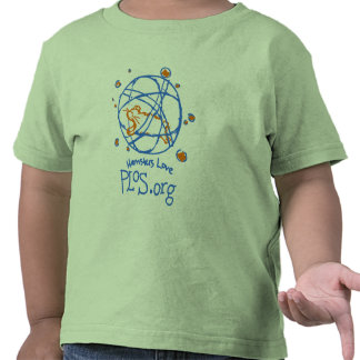 ¡Amor PLoS de los hámsteres! Camiseta del niño