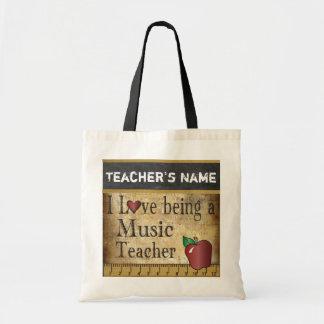 Amor que es un estilo del vintage del profesor de bolsa tela barata