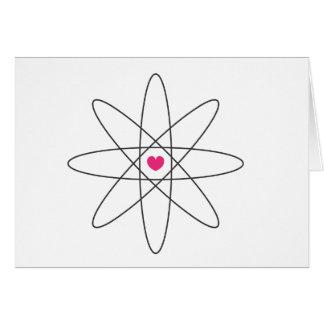 amor químico tarjeta de felicitación