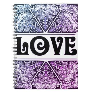 Amor - Quote´s positivo Cuaderno