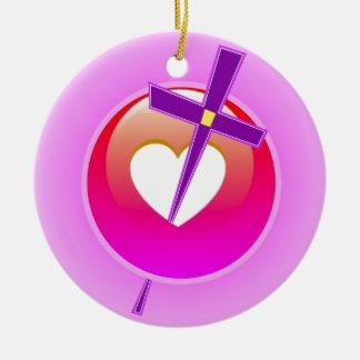 Amor religioso ornamentos de reyes