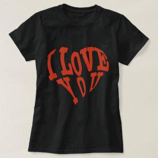 amor rojo precioso hermoso del ciervo usted arte camiseta