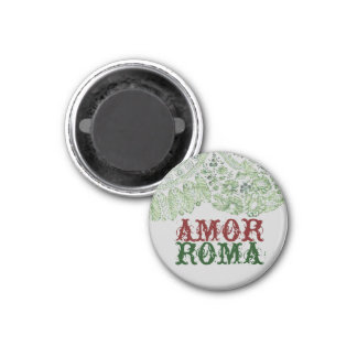 Amor Roma con el cordón verde Imán De Frigorifico