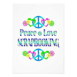 Amor Scrapbooking de la paz