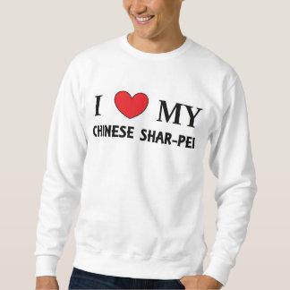 amor shar chino sudadera