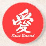 amor St Bernard Posavasos Manualidades